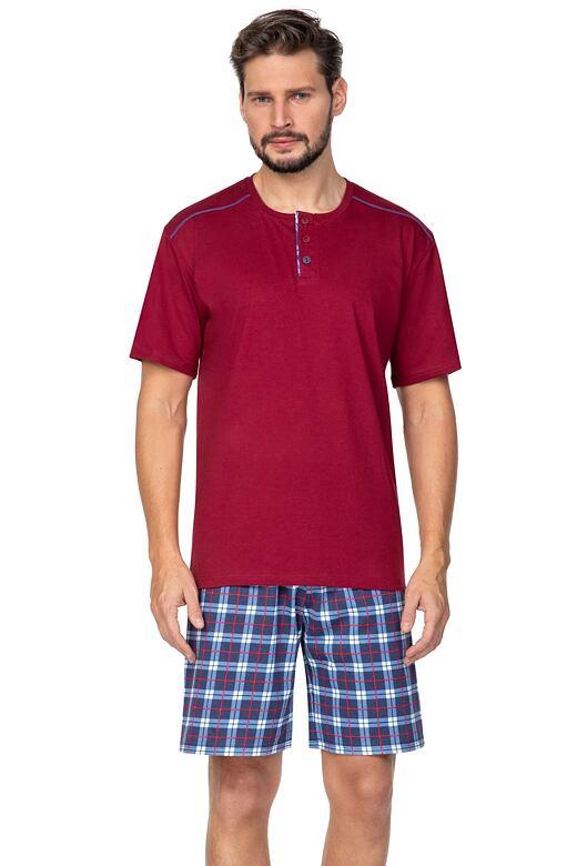 Pánske pyžamo Billy červené