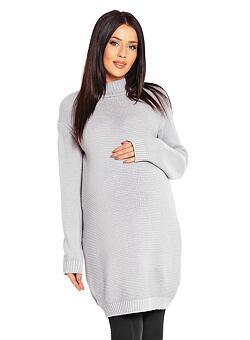 66c8930dca1b Tehotenský sveter Laila sivý