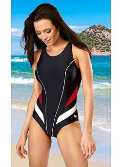 4c043a95ef Doprava zadarmo Jednodielne športové plavky Liana čierne