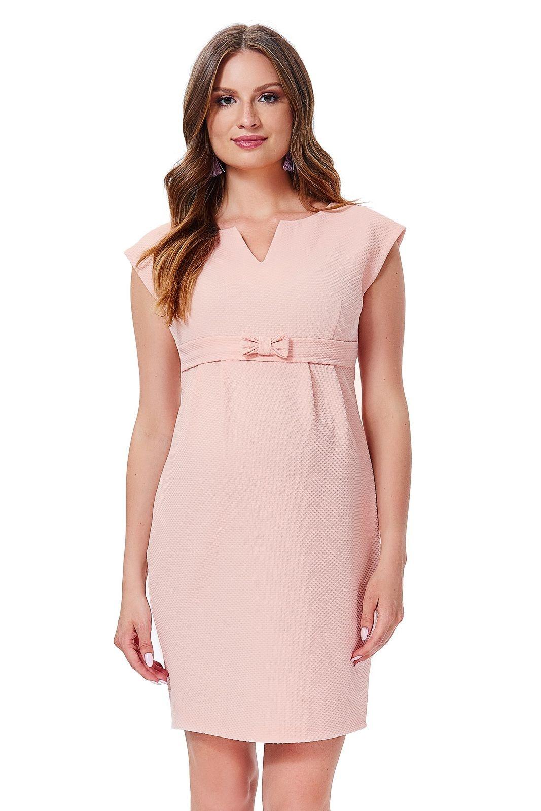 60699624d258 Tehotenské šaty Fergie lososové - ELEGANT.sk
