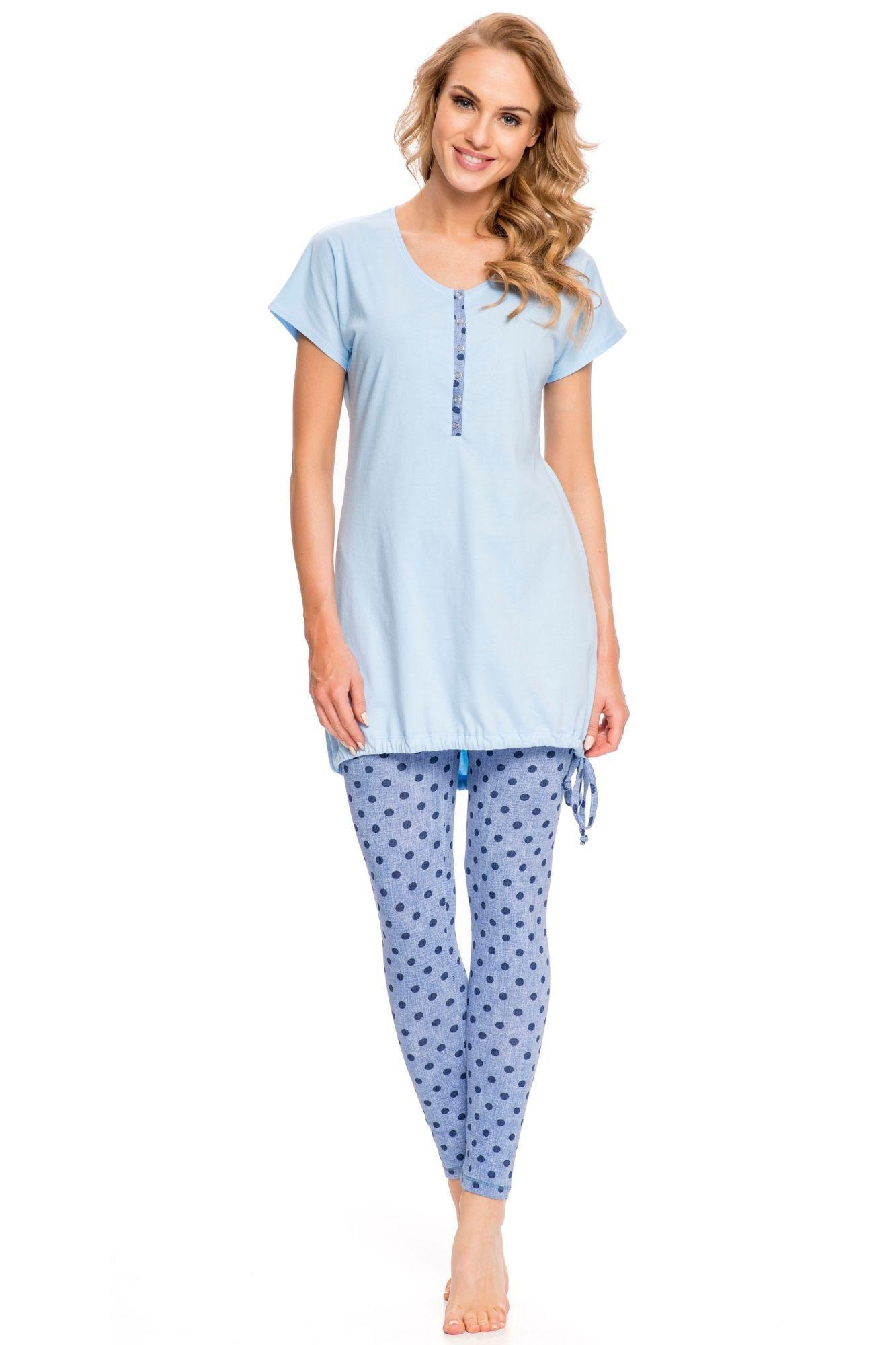 66ef6b2612ea Dojčiace pyžamo Arana modré - ELEGANT.sk