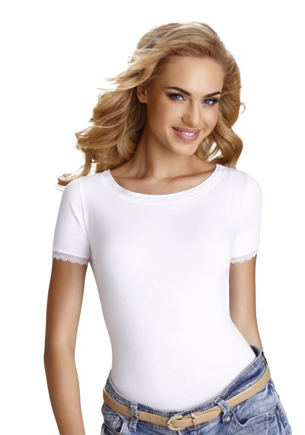 3ce1779ab195 Dámske tričko Arabella biele - ELEGANT.sk