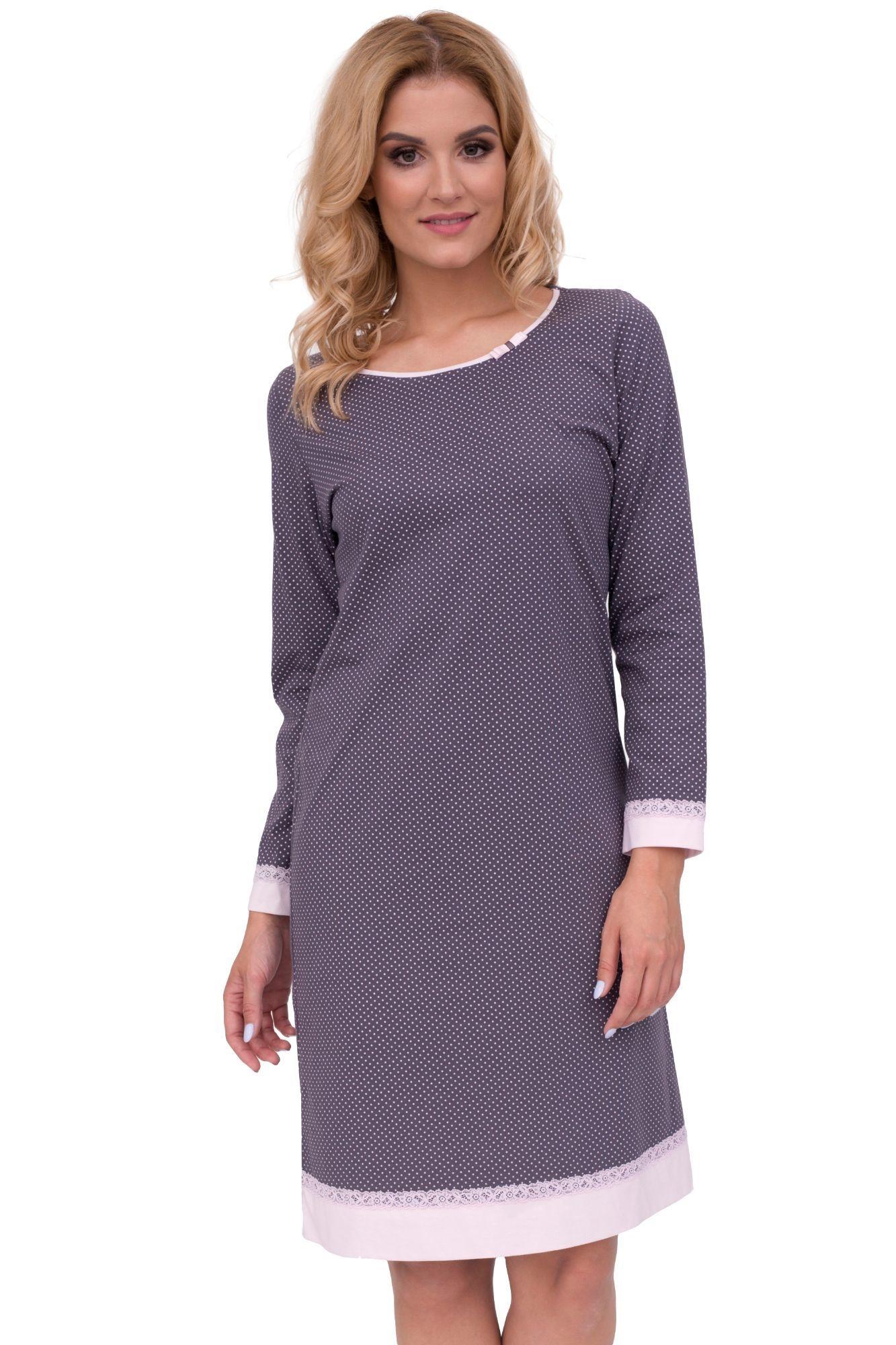 10e943a7d21c Luxusná dámska nočná košeľa Iva bodky - ELEGANT.sk