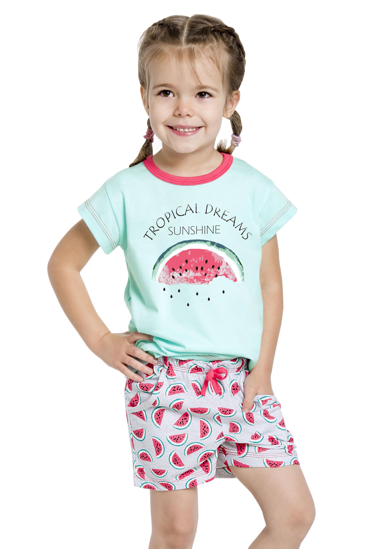 20c41536c7cb Dievčenské pyžamo s melónom Vanessa zelené - ELEGANT.sk