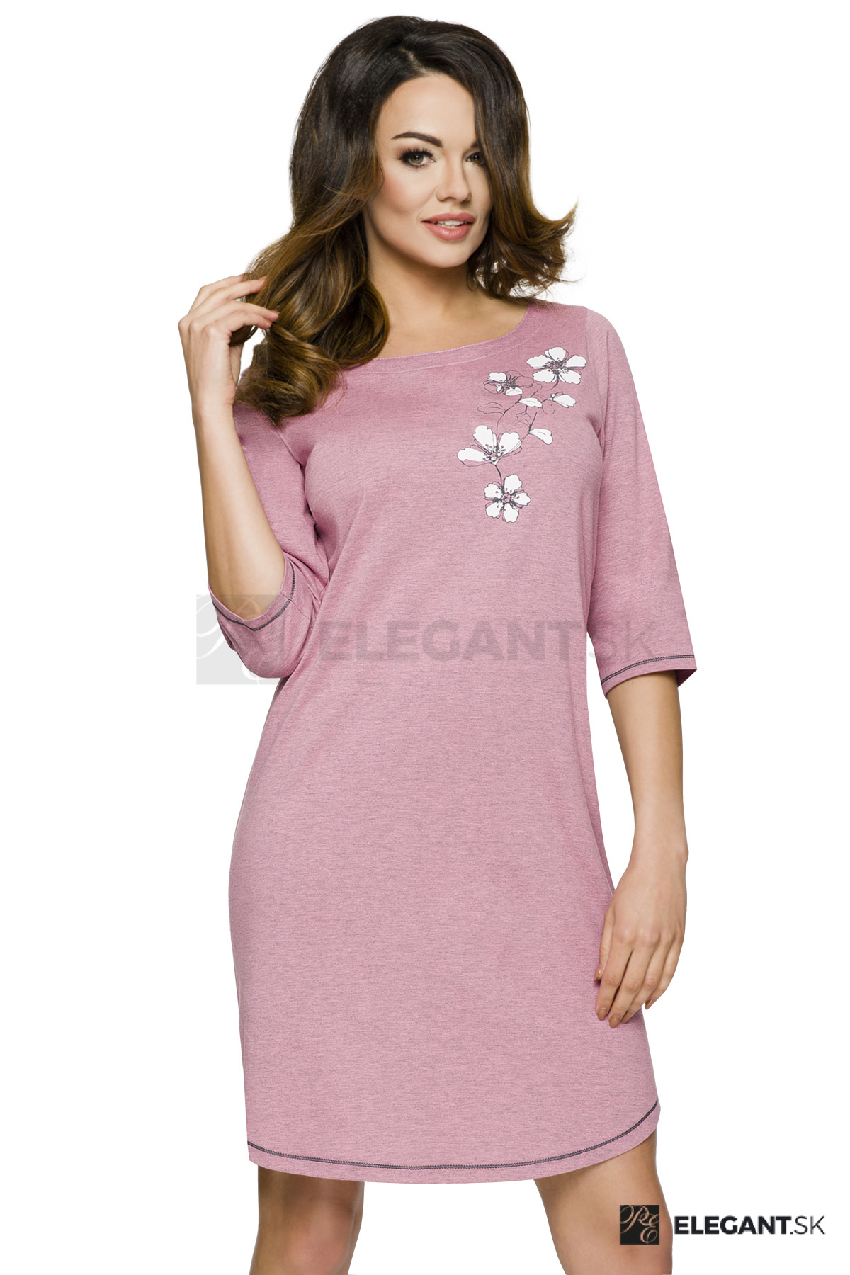 e028767c0dca Dámska nočná košeľa Ella s ružami - ELEGANT.sk