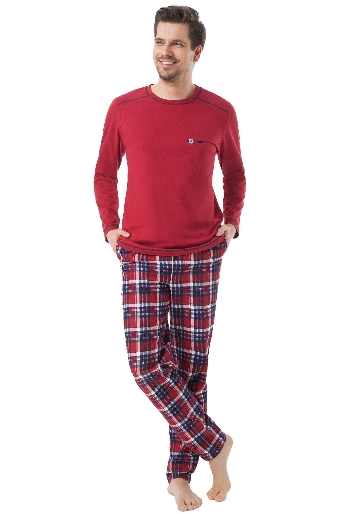 aaf6d399086f Pánske pyžamo Steve flanelové nohavice - ELEGANT.sk