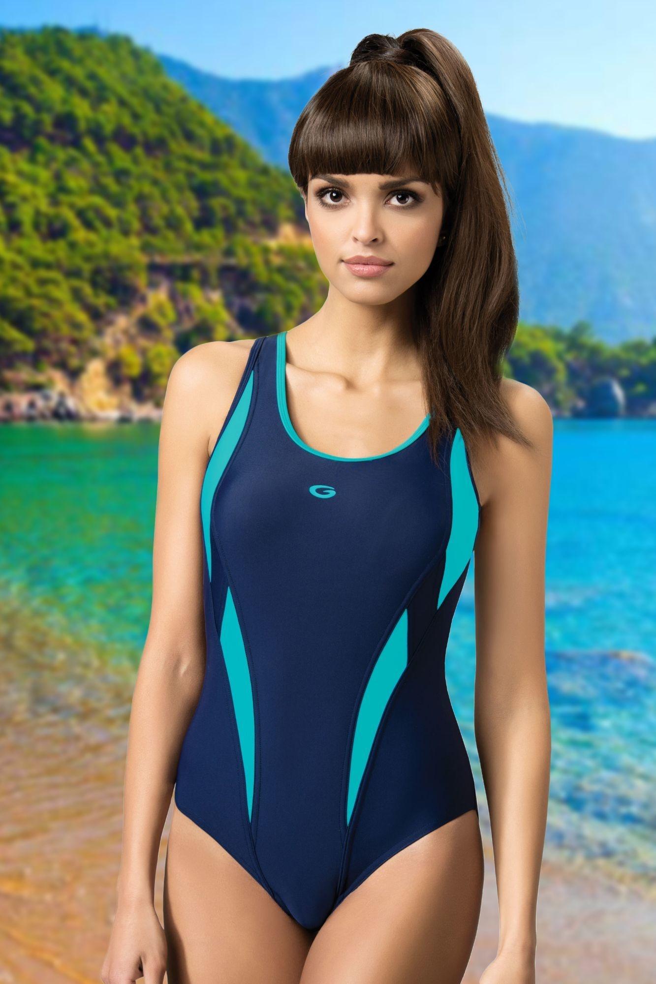 27286d03e Jednodielne športové plavky Aqua III - ELEGANT.sk