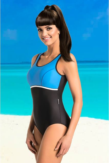 4f6f509c91f Jednodielne športové plavky Mariette čierne - ELEGANT.sk